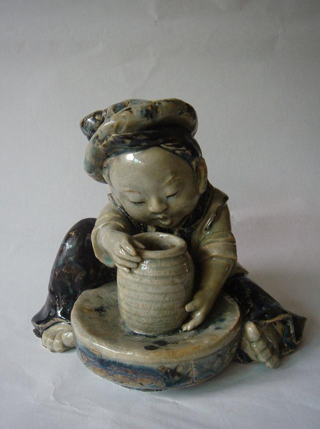 潮州陶瓷雕塑漫谈
